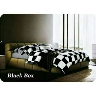 Sprei star dust dan black box