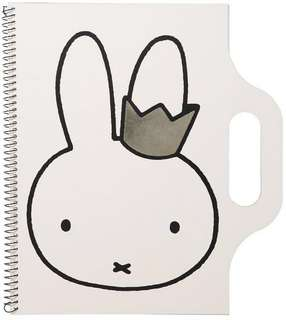 Miffy Crown A4 Carry Me Sketch Book by Cotton On Kids