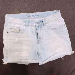 Calvin Klein Jeans 牛仔短褲