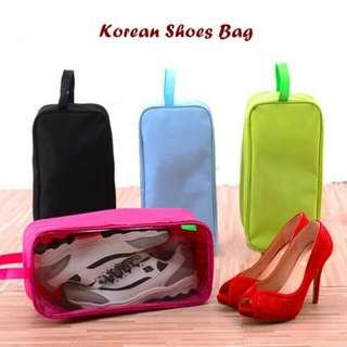 Korean Travel Tas Besar Sepatu/Sandal/Boot