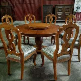 Narra diningset