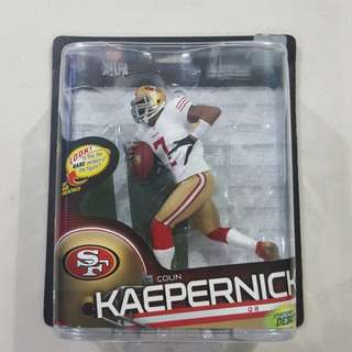 Legit Brand New Sealed McFarlane NFL Colin Kaepernick San Francisco 49ers Series 33 Toy Figure