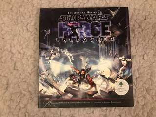 Art books for sale: The Art of Star Wars Force Unleashed