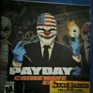 PAYDAY 2 - Crimewave Edition for Playstation 4