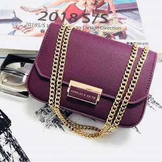 NEW!!! Charles and keith sling bag tas import wanita