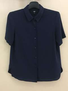 UNIQLO TOPS BLOUSE SHIRTS S/S