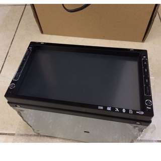 "#15Off Universal 7"" Double Din with DVD & TV Function"