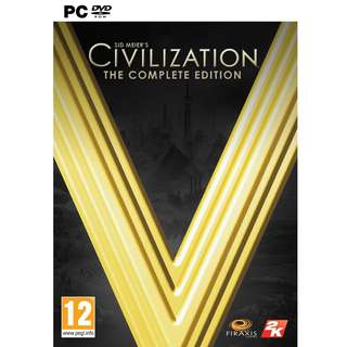 Sid Meier's Civilization V: Complete Edition Steam Key GLOBAL PC
