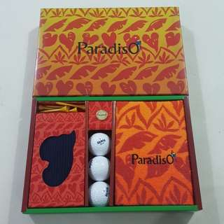 Legit Brand New With Box Paradiso Golf Set