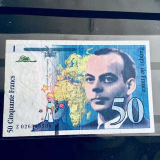 Rare 1994 Francs Note