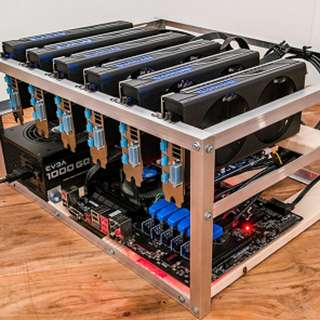 20 units Ethereum Mining Rig with 6 GPU GTX-1070 for sale