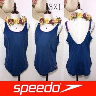 Branded Plussize Speedo One Piece Swimsuit FO66