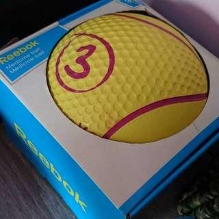 BN REEBOK MEDICINE BALL 3kg