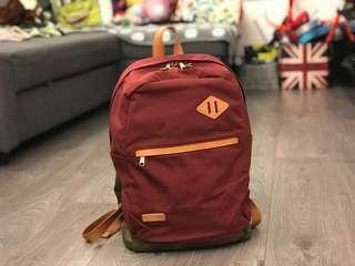 Hellolulu camo base wine colour backpack 背囊