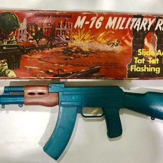 Military Rifle Toy - Hong Kong