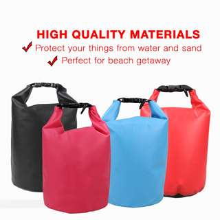 Waterproof Dry Bag with Strap 10L