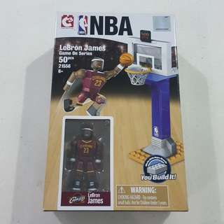 Legit Brand New With Box C3 NBA LeBron James Cleveland Cavaliers Toy Figure