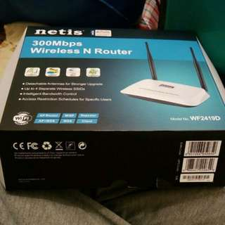 NETIS wifi router