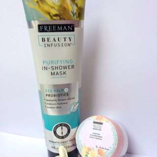 FREEMAN SHARE IN JAR INFUSION PURIFYING IN SHOWER MASK