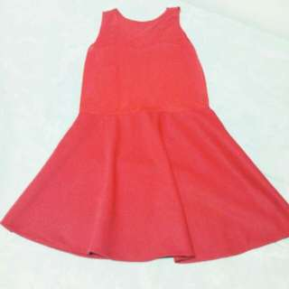 Red Dress (never been use)