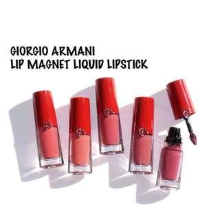 GIORGIO ARMANI  Lip Magnet Liquid Lipstick 「小胖丁」