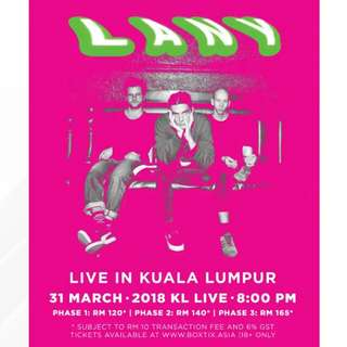 Looking for LANY at KL LIVE tickets