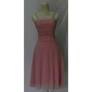 BS073 Dress Mini Pink
