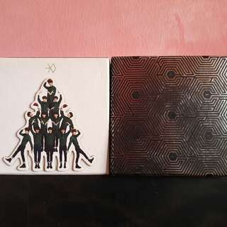 EXO MID AND OVERDOSE ALBUM (K VER)