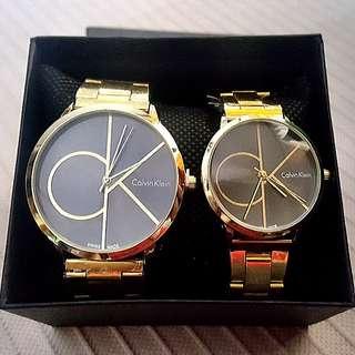 Calvin Klein Fashion Couples Watch