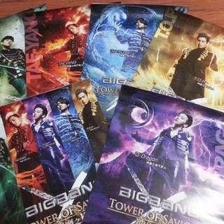 Big Bang 神魔之塔 代言人 Poster 一套四張