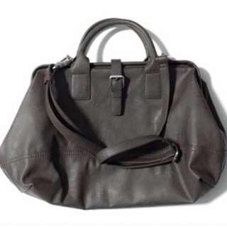 Esprit Two-Way Leather Bag