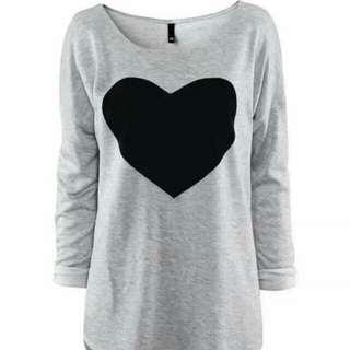 Heart long sleeve
