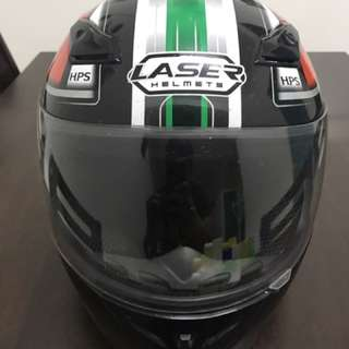 Full Face laser helmet