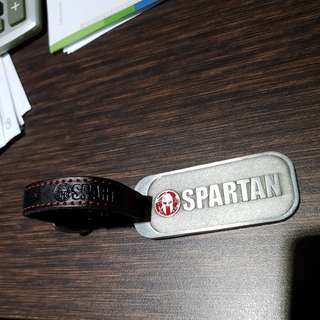Limited edition Spartan luggage Tag