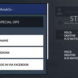 Spec ops account selling