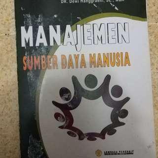 Manajemen SDM karangan Dewi A