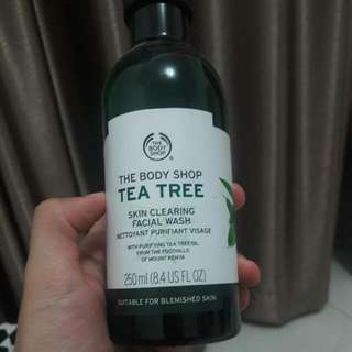 (Bonus 1/3 Btl)Body Shop Tea Tree Facial Wash
