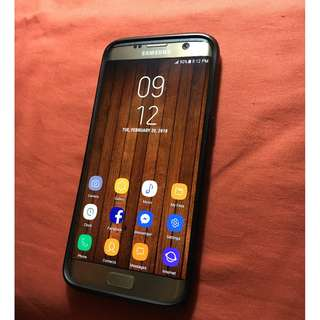 Samsung S7 Edge Gold Duos NTC from Globe