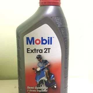 Mobil Extra 2T Engine Oil