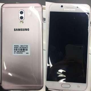 Samsung galaxy C8 64gb baby pink 粉紅色 全新