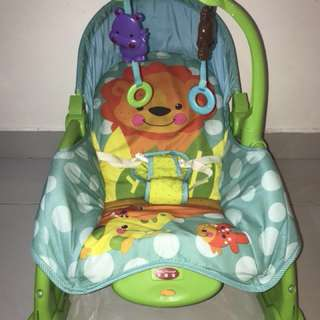 Baby Throne new born/toddler Rocker