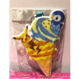 神奇寶貝中心 精靈寶可夢 皮卡丘 波加曼 冰淇淋 票夾