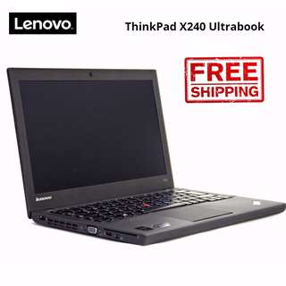 ThinkPad Lenovo X240 12.5'' LED Business Ultrabook i5-4300U@1.9Ghz 4GB RAM 320GB HDD WIN 10 Pro 30 days warranty