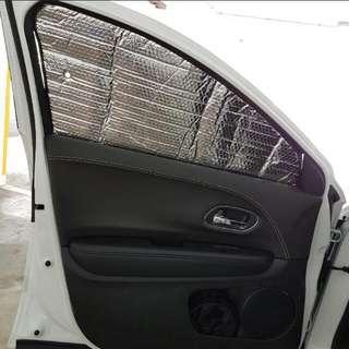 Honda Vezel Aluminium Sun Shade