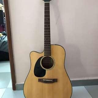 Takamine G series Acoustic Guitar (left-handed)