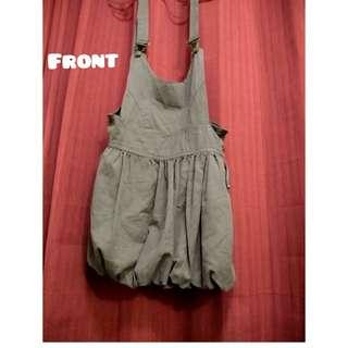 🚩🚩🚩Jumper Skirt (army green)