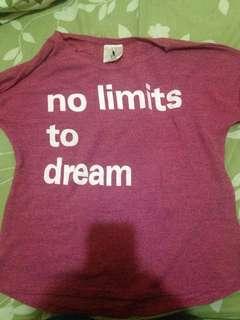 crop t-shirt pink
