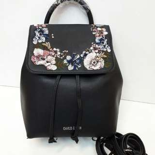SALE!!!!! Charles and keith backpack tas import wanita