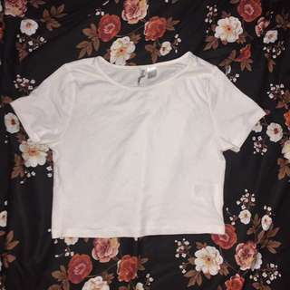 H&M Crop Tee / Top