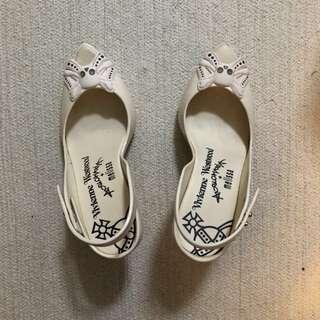 vivienne westwood melissa skull cream pumps shoes heels 高跟鞋